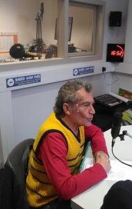 Francis Pornon fait sa chronique à la Radio Mon Pais